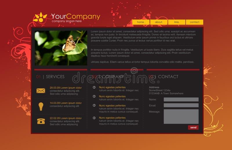 Professional website template