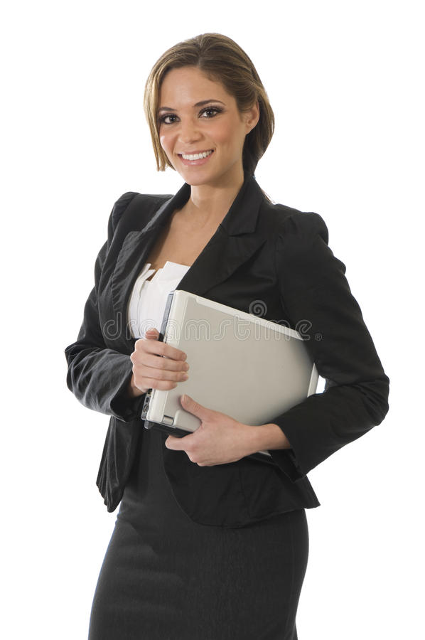 Download Professional Woman On White Stock Photo - Image: 14394864