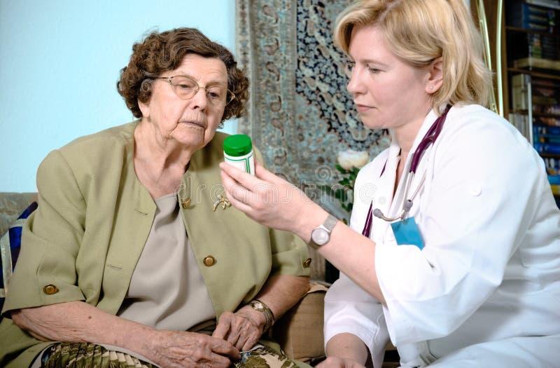 professione d'infermiera domestica immagini stock libere da diritti