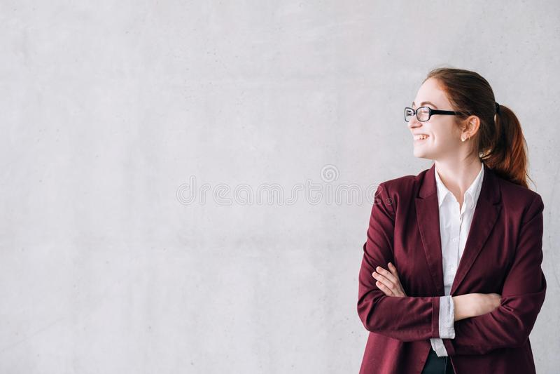 Professione femminile di fiducia di potere delle donne di affari fotografia stock