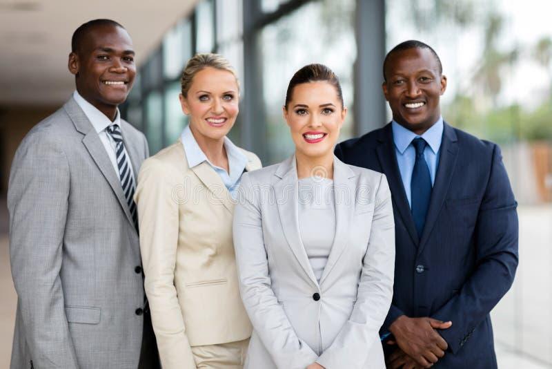 Professioneel commercieel team royalty-vrije stock afbeelding