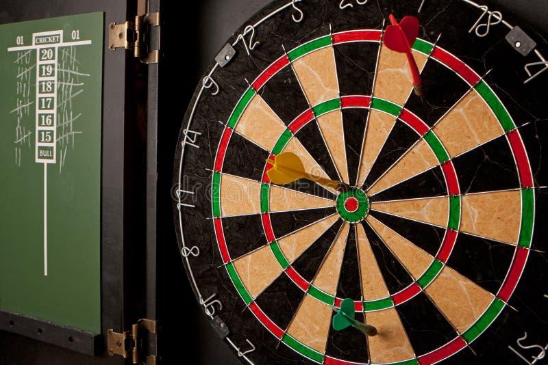 Professioneel Dartboard royalty-vrije stock fotografie