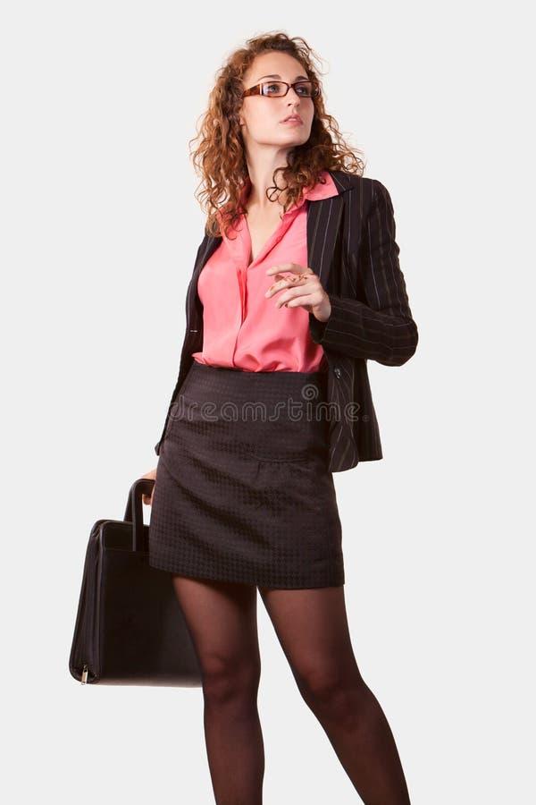 Professionele bedrijfsvrouw stock afbeelding