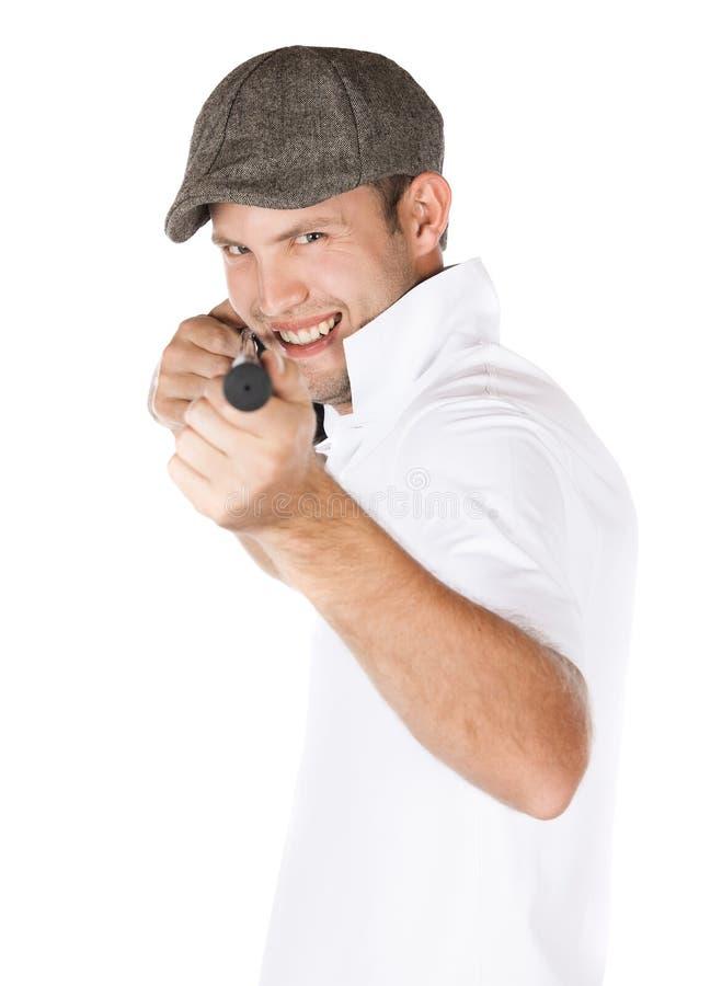Professionele golfspeler royalty-vrije stock foto