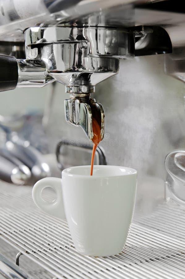 Professionele koffiemachine stock foto