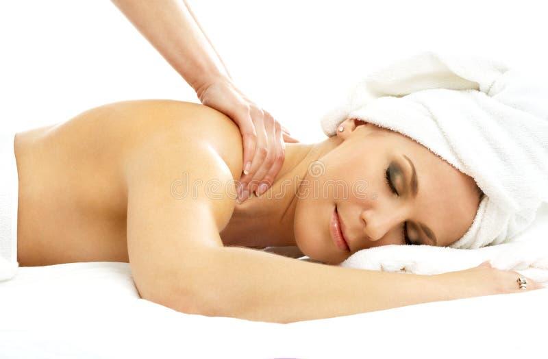 Professionele massage royalty-vrije stock foto's