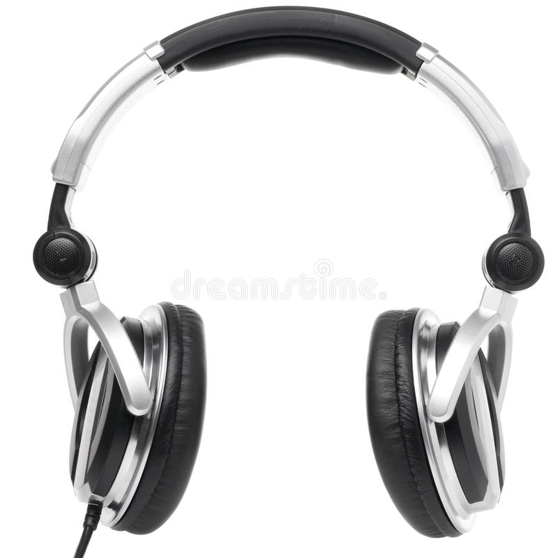 Professionele oortelefoons royalty-vrije stock fotografie
