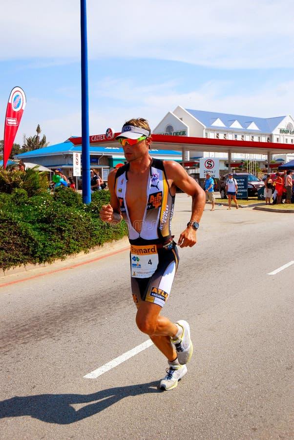 Professionele triathlete - Tissink royalty-vrije stock foto's