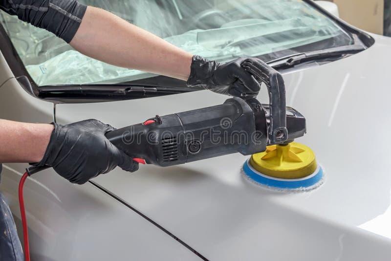 Professionelle Autopflege lizenzfreie stockfotos