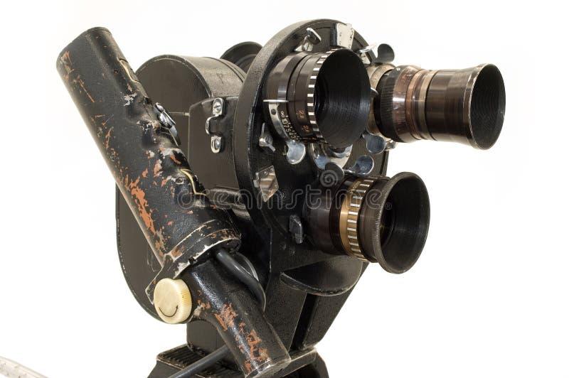 Professionista 35 millimetri la macchina fotografica di film. immagine stock