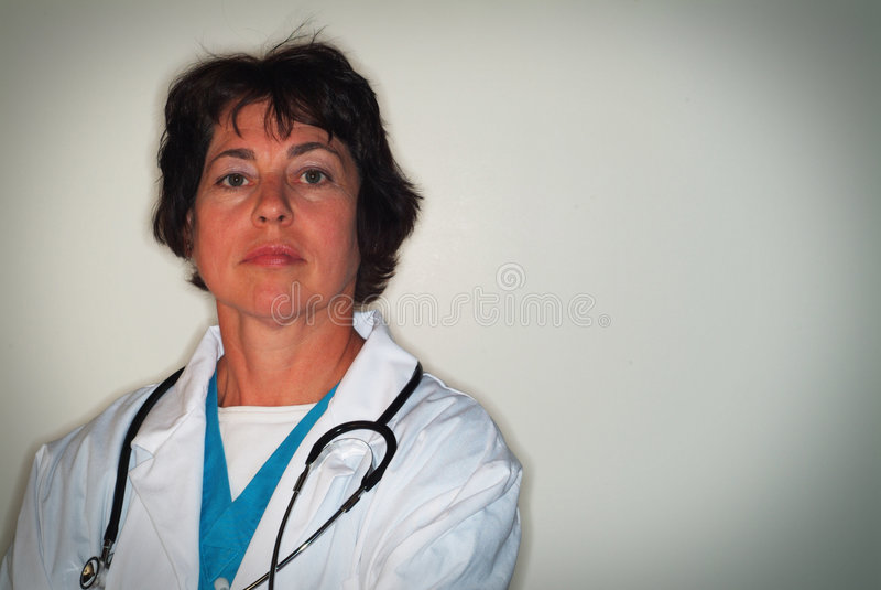 Professionista medico femminile immagini stock
