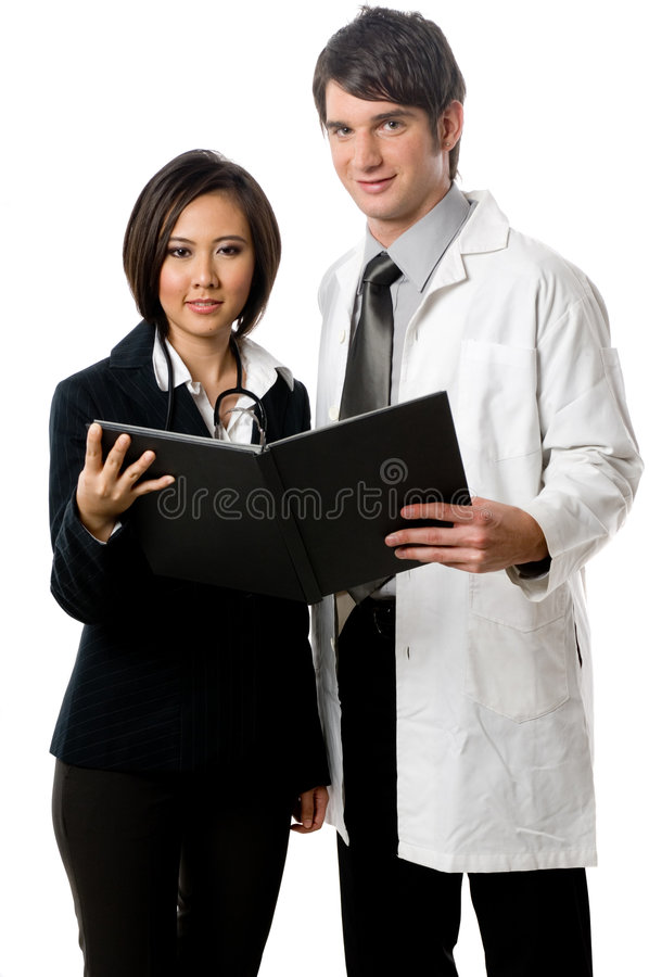 Professionisti medici fotografia stock