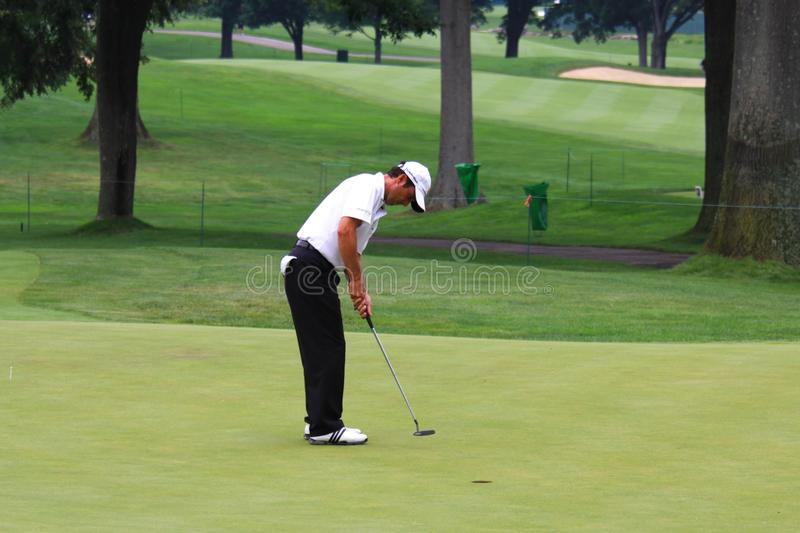 Professionnel de golf Mike Weir photographie stock