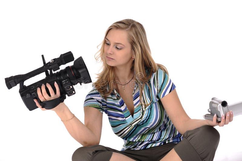 Professionnel ou amateur photographie stock libre de droits
