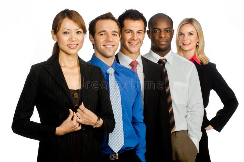 Professionnels d'affaires photo stock