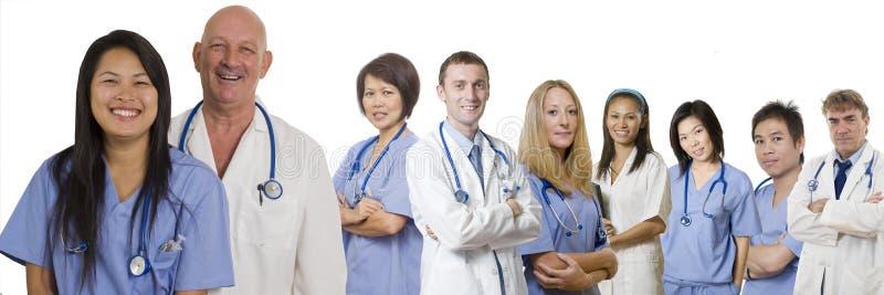 Professionnels de soins de santé photographie stock