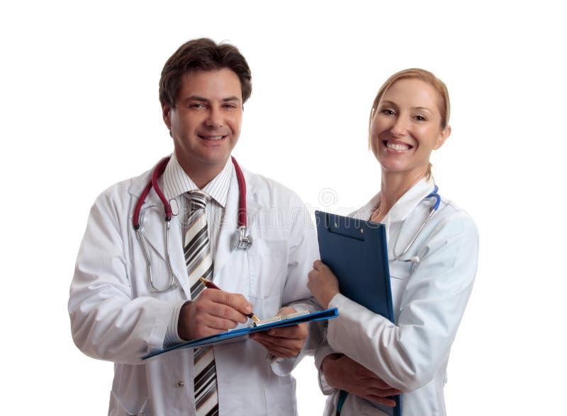 Professionnels de soins de santé photographie stock libre de droits