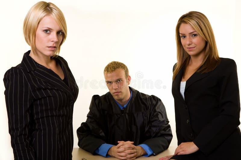 Professionnels juridiques images stock