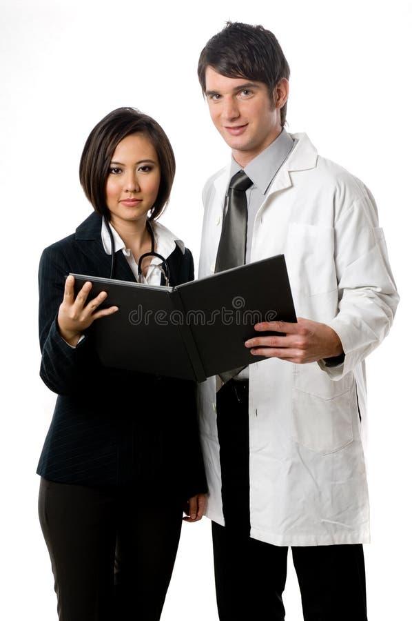 Professionnels médicaux image libre de droits