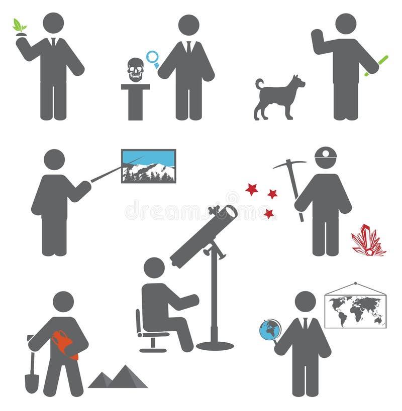 Professions stock illustration