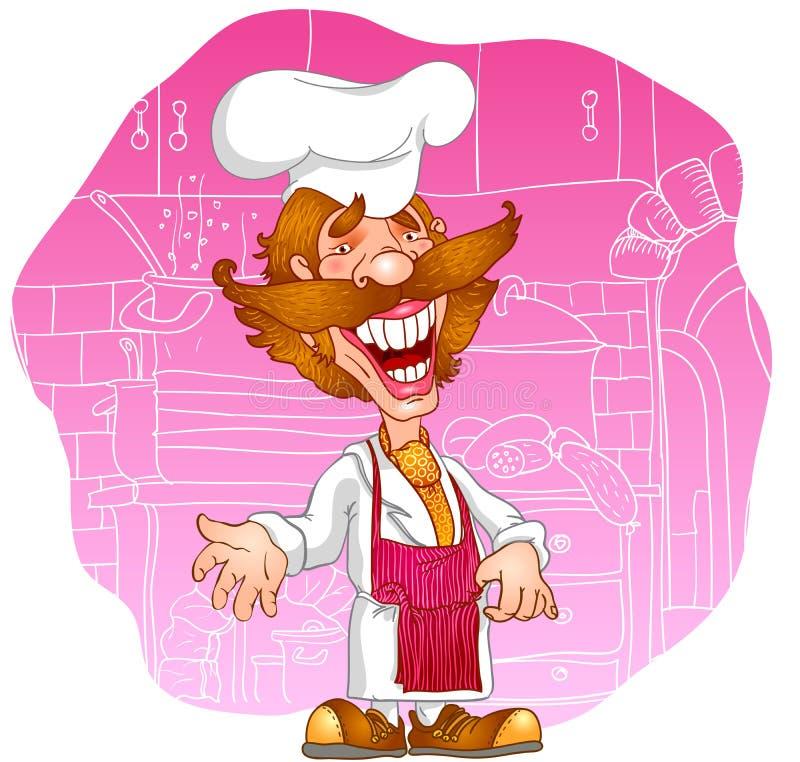 Professions_cook lizenzfreie abbildung
