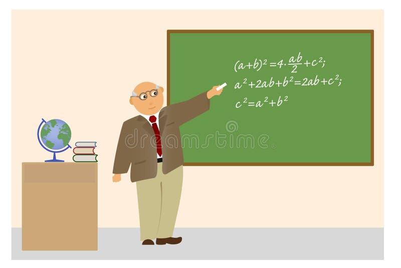Professor. ilustração do vetor