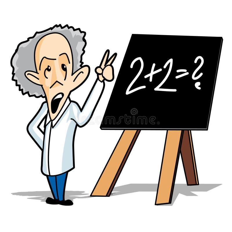professor stock illustrationer