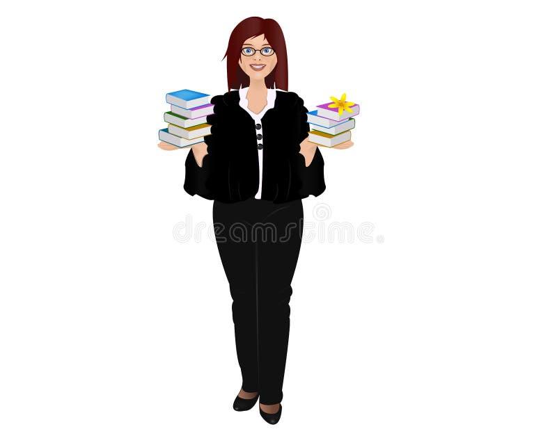 professor ilustração do vetor