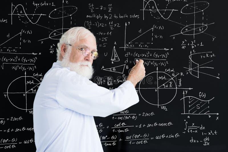 professor royaltyfri bild