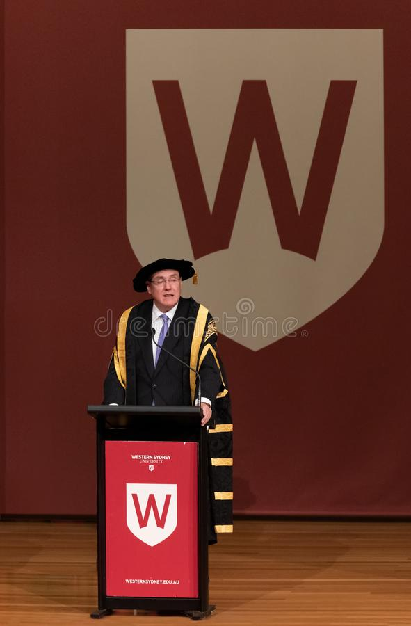 Professor Barney Glover, Vice-Chancellor of Western Sydney University. Professor Barney Glover AO is the fourth Vice-Chancellor of Western Sydney University. A stock image