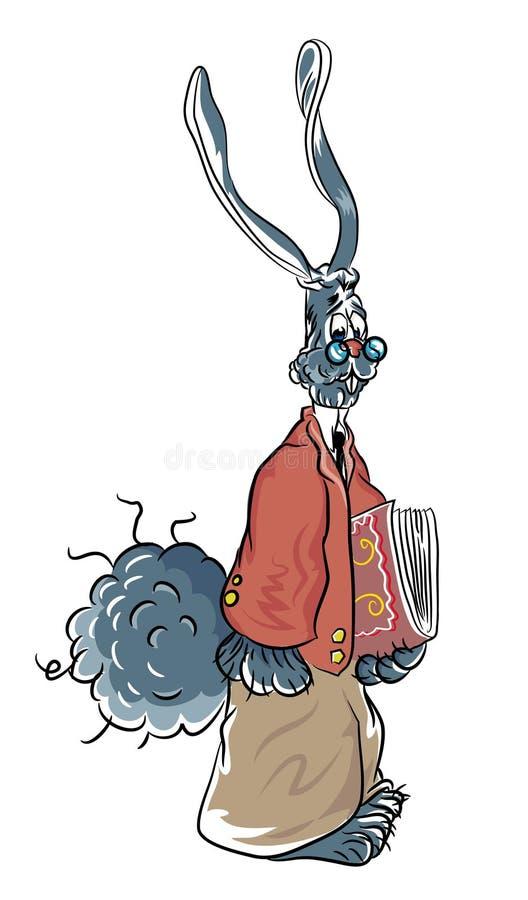 Download Professor bunny stock vector. Illustration of design - 114645987