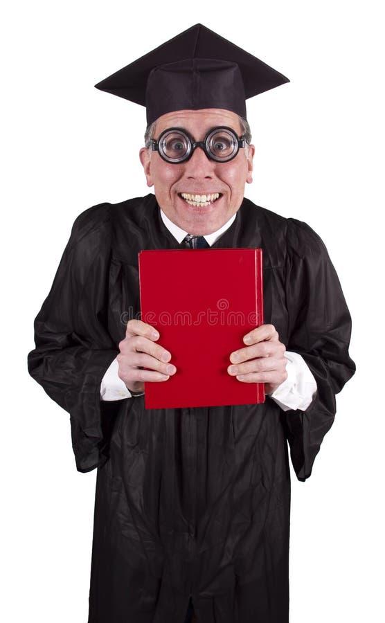 Professor de noz da faculdade, professor, instrução imagem de stock