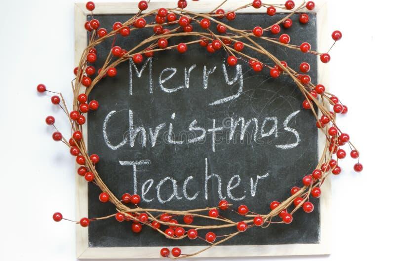 Professor do Feliz Natal. imagem de stock