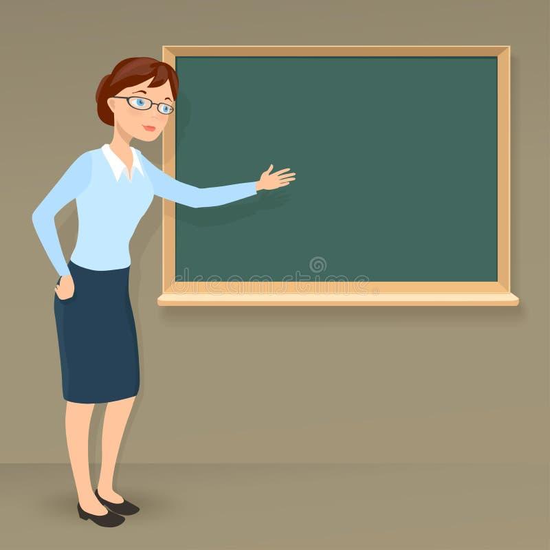 Professor fêmea ilustração royalty free