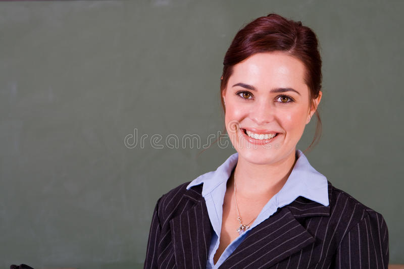 Professor feliz foto de stock royalty free