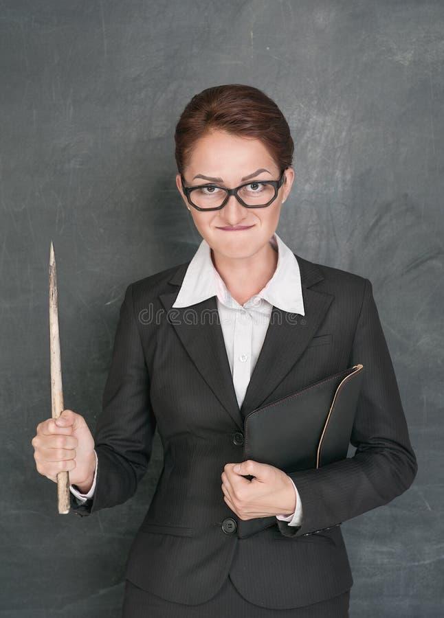 Professor irritado fotos de stock royalty free