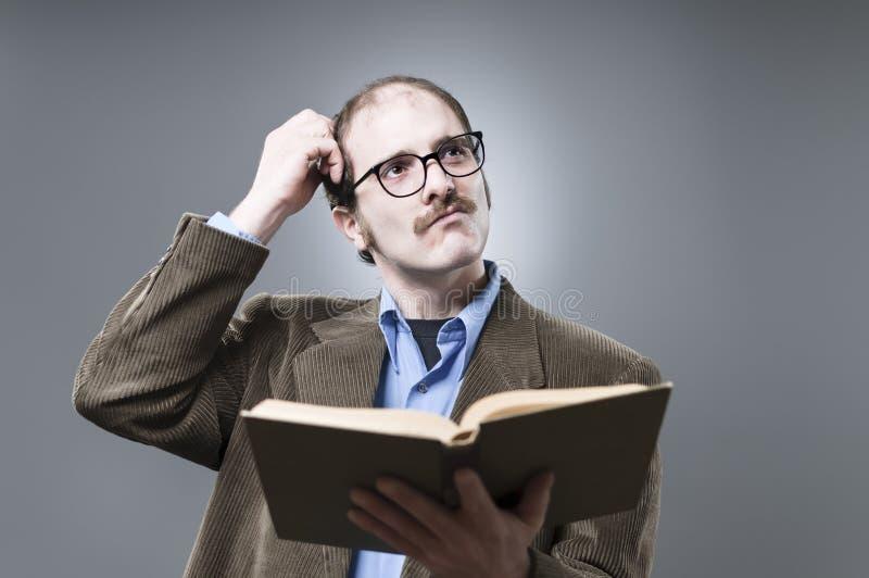 Professor Lecturing royalty-vrije stock fotografie