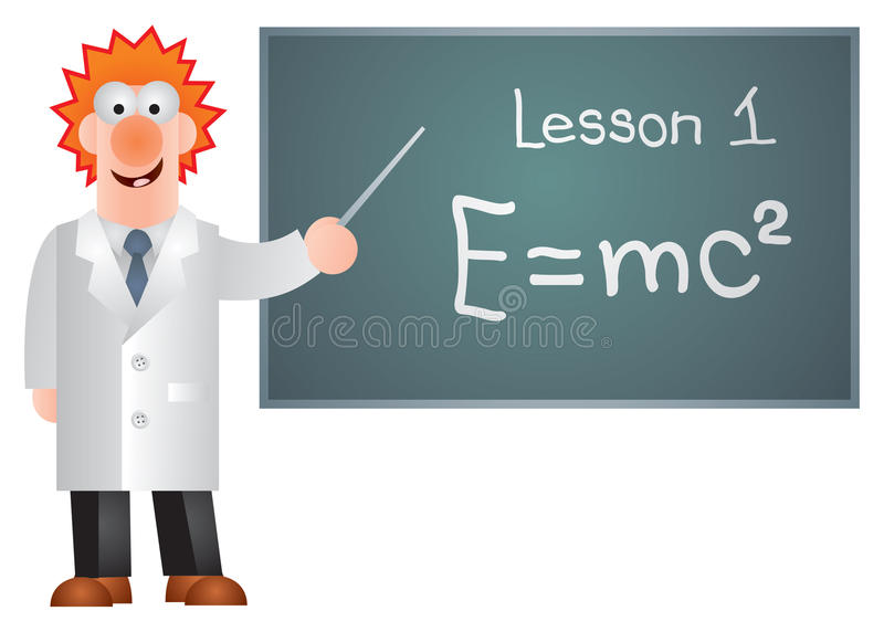 Download Professor Near The Blackboard Stock Images - Image: 15130054