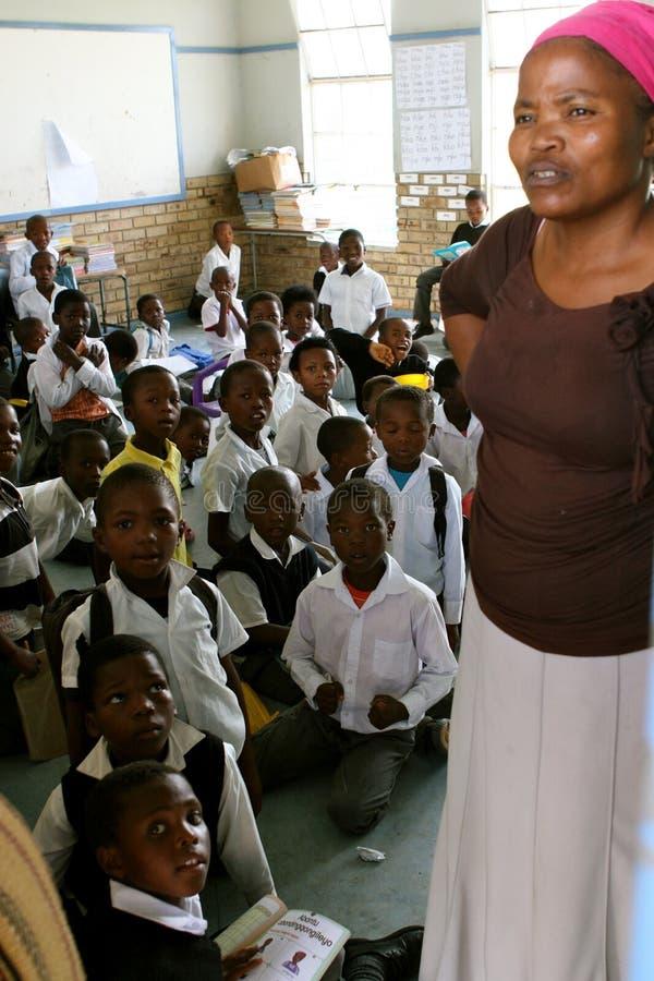 Professor no cabo oriental África do Sul fotos de stock