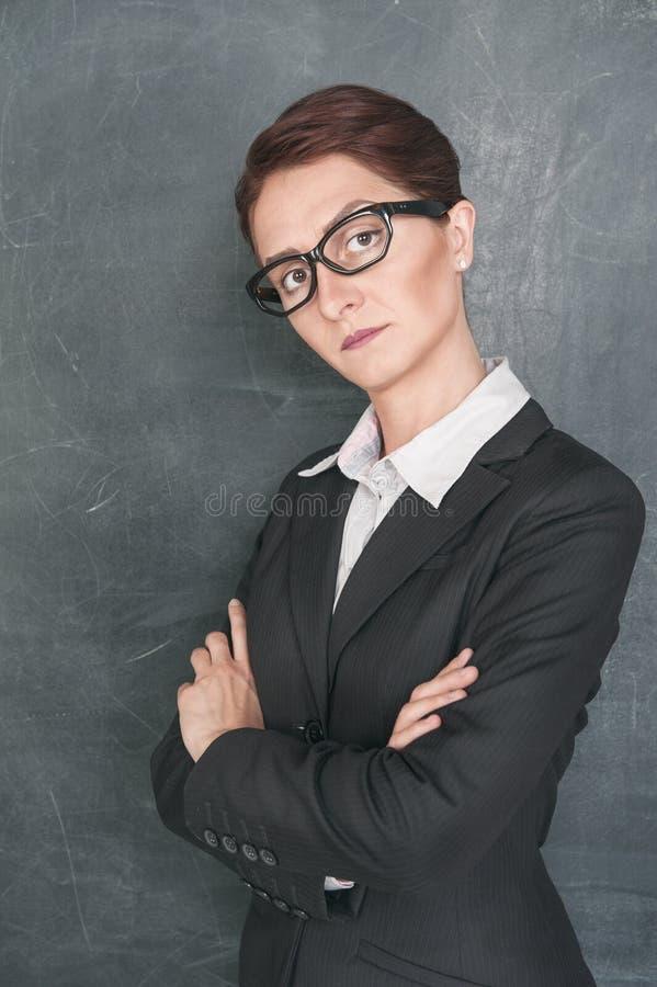 Professor restrito fotografia de stock