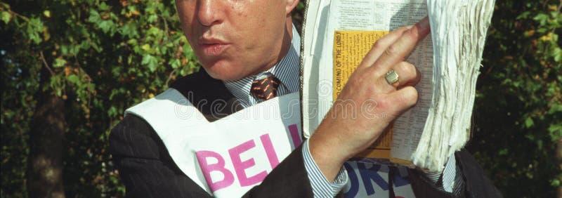 Download Profet проповедника библии стоковое фото. изображение насчитывающей bonnet - 494974