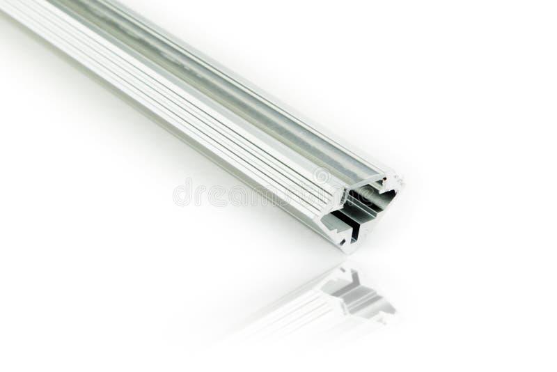 Profielen van het lusje de lichte aluminium royalty-vrije stock afbeelding