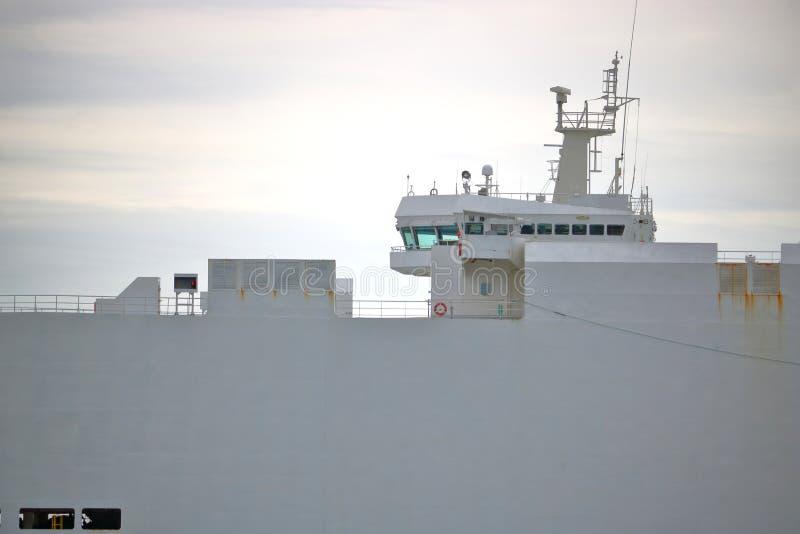 Profielmening van Bulk-carrierbrug stock afbeeldingen