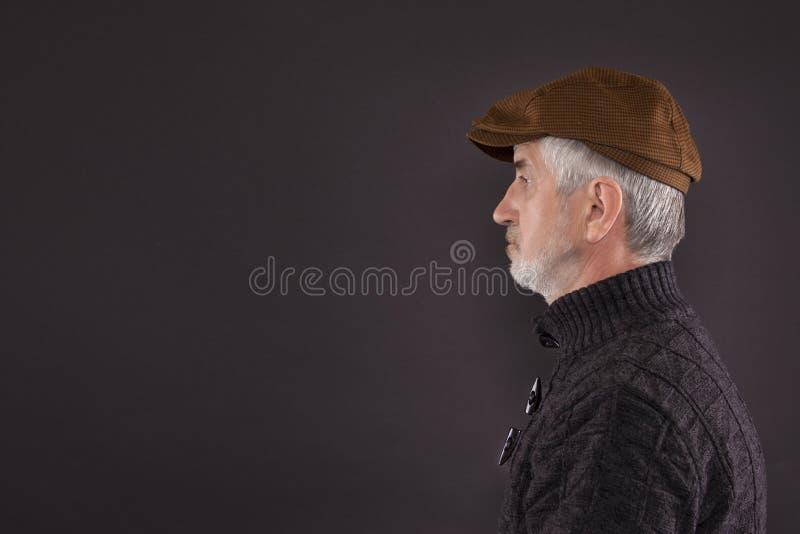 Profil stockfoto