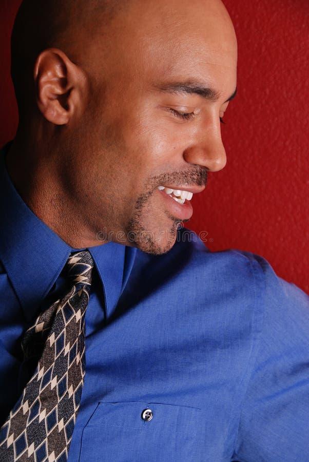 Profil d'homme attirant. photos libres de droits
