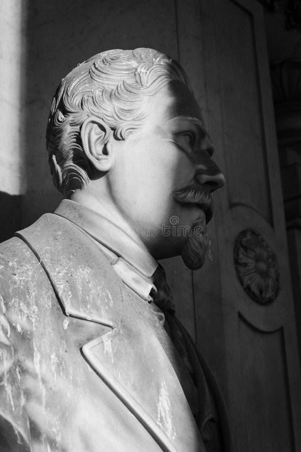 Profil de statue d'homme d'affaires photos libres de droits