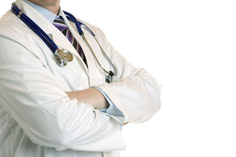 Profil des Arztes lizenzfreie stockfotos