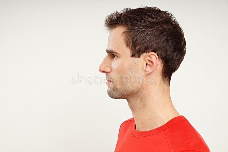 Profil des Mannes stockfotos