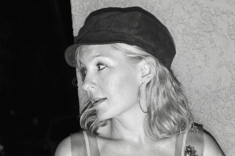 Profil einer Frau lizenzfreie stockfotografie