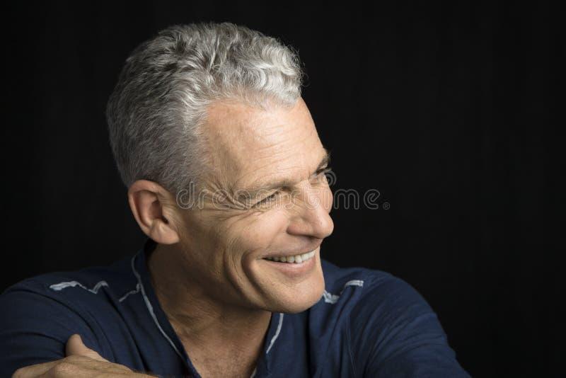 Profil Mężczyzna zdjęcie stock